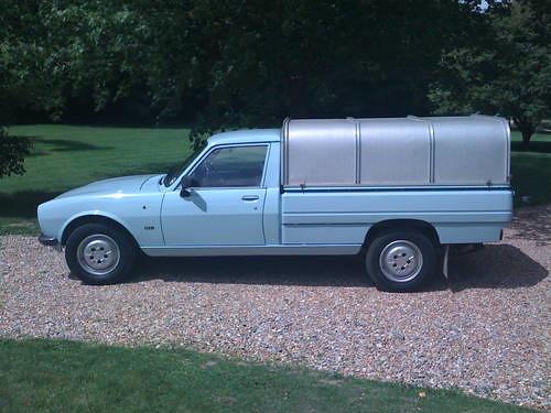 peugeot 504 pick up 1989 car and classic co uk flickr. Black Bedroom Furniture Sets. Home Design Ideas