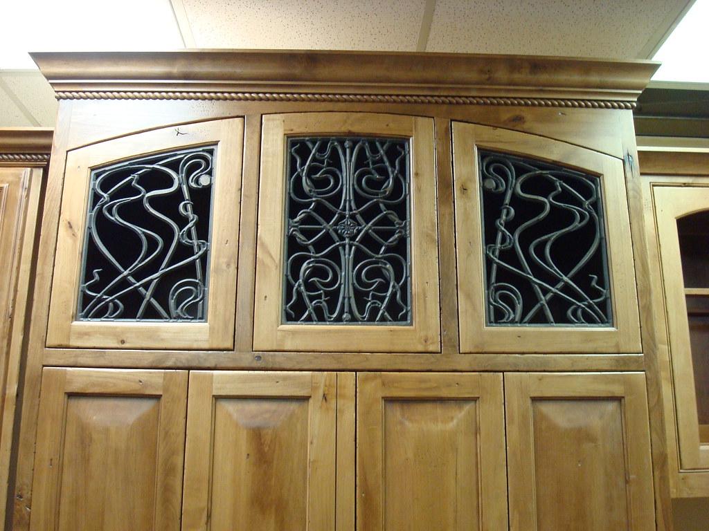 Cabinet Door Faux Iron Insert The Cabinet Door Inserts