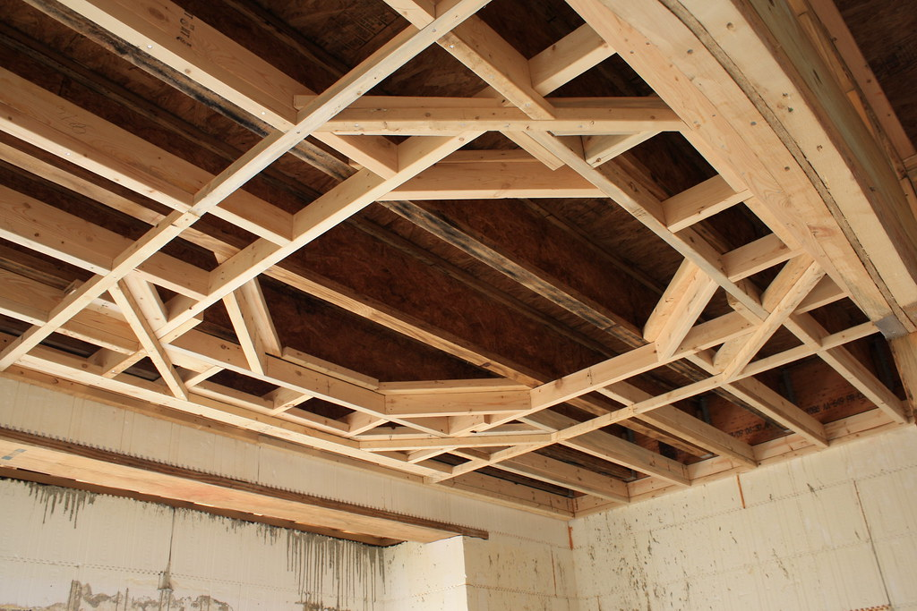 pe web framing tray ceiling dining room by mike shipman pe