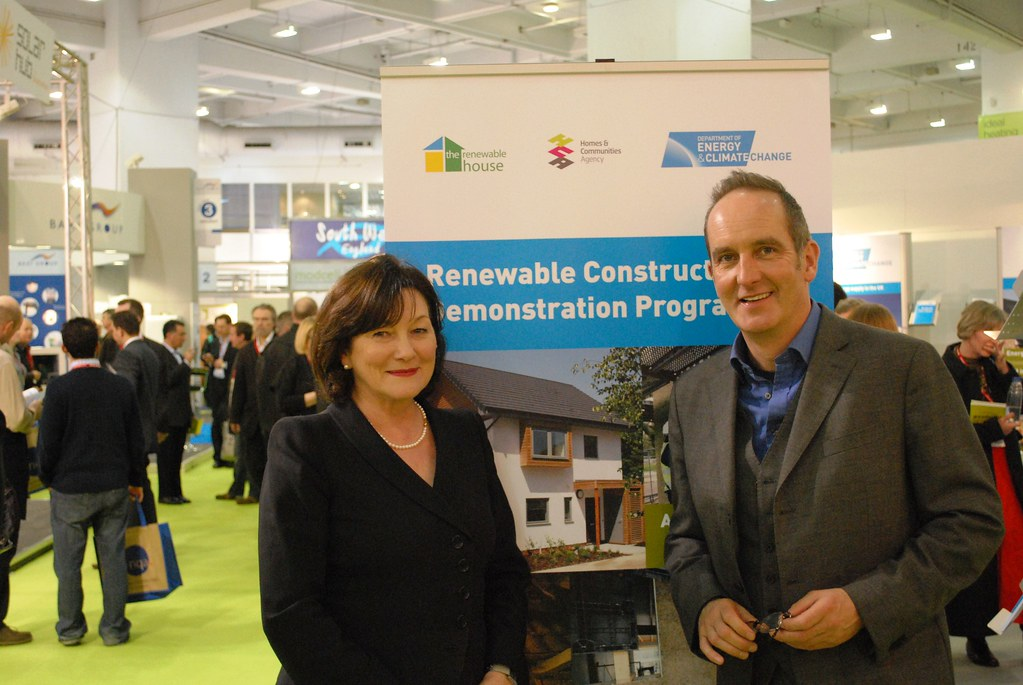 Exhibition Stall Photos : Joan ruddock and kevin mccloud climate