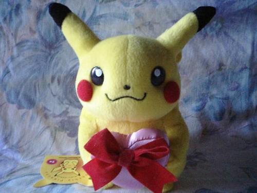 The Medium Is Message >> Monthly Pikachu - Valentine's | Company: Pokemon Center Set:… | Flickr