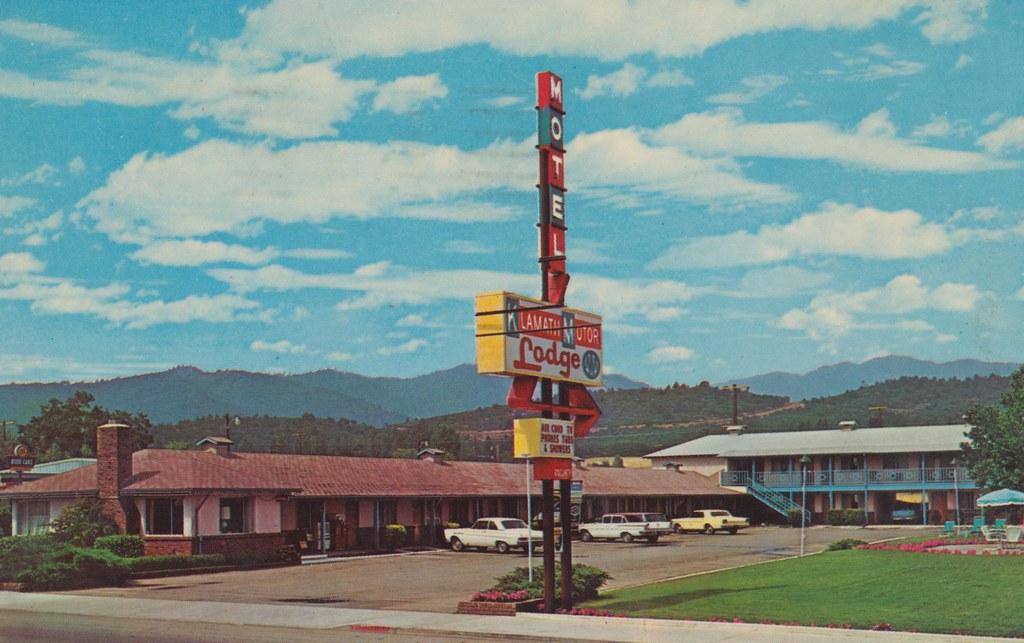 The Cardboard America Motel Archive Klamath Motor Lodge