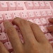 Female Typing