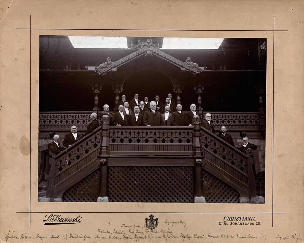studentjubileum 50 år Bjørnsons 50 års studentjubileum, Holmenkollen, 1902   Flickr studentjubileum 50 år
