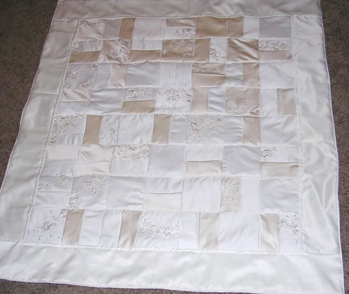 how to make a wedding quilt