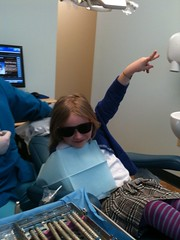 Amelia's first dentist visit was a success! | by mia3mom