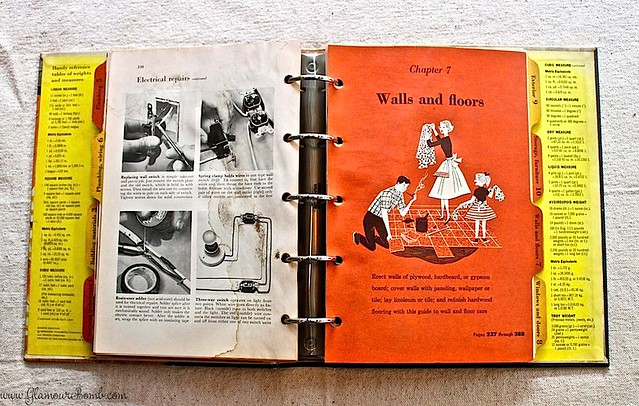 Vintage Book Better Homes Amp Gardens Handyman S Book 1957