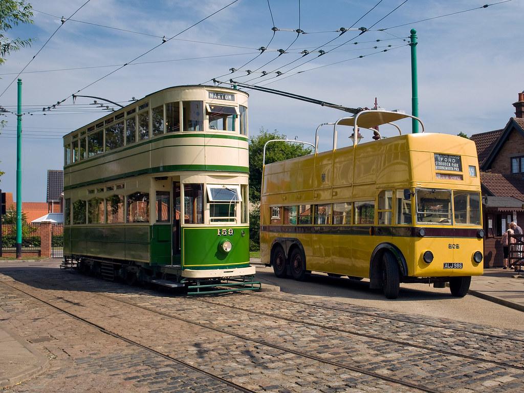 Blackpool Tram Bournemouth Trolley Bus Blackpool Tram