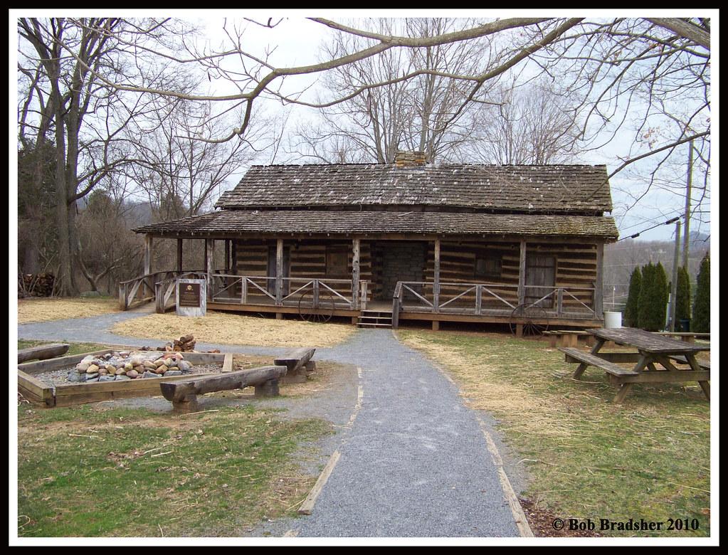 ... Robert E Young Cabin, Johnson City, TN | By Bob In North Carolina