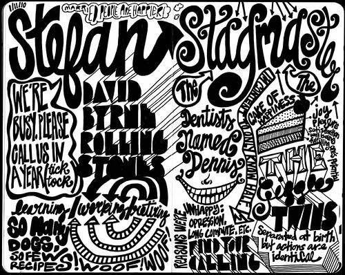 Stefan Sagmeister, Sketchnotes 1 | My notes from Stefan ...