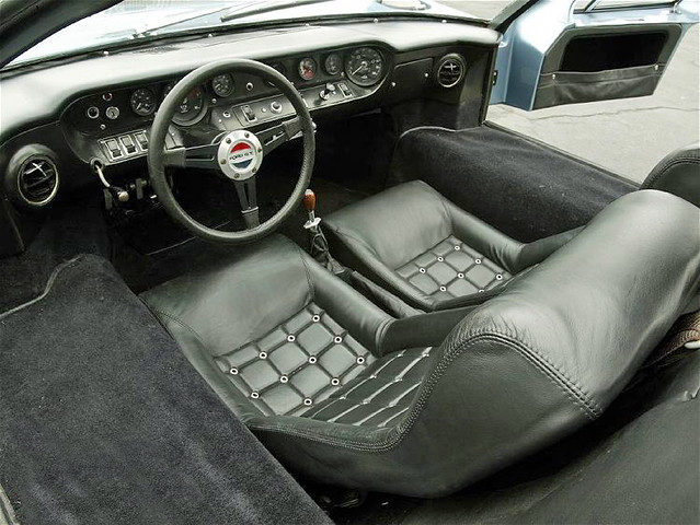 Street Legal 1967 Ford Gt40 Mk Iii The Interior Of The