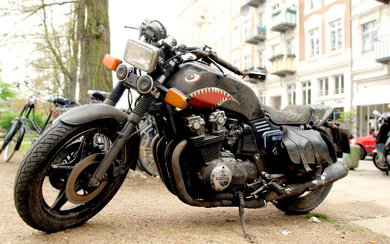H Davidson Bike