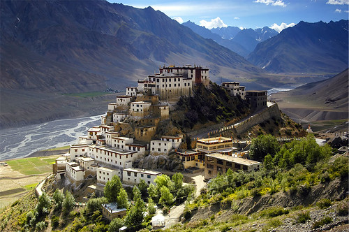 The Kyi Monastery, Spiti valley  Spiti valleys pride ...