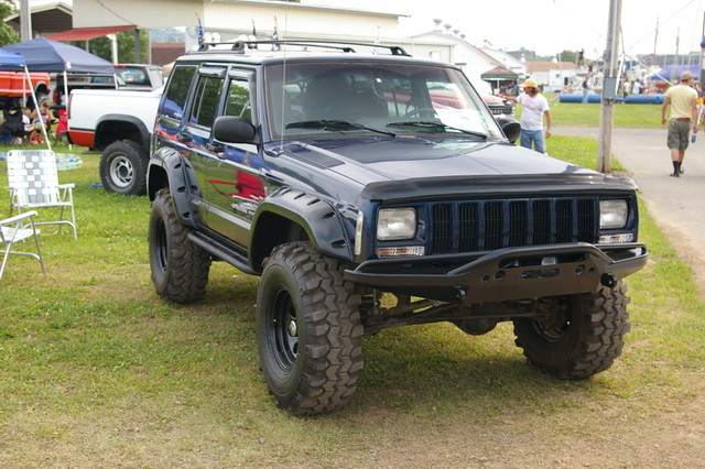 Jeep Cherokee  XJ  Bloomsburg 4WD Jamboree  2009