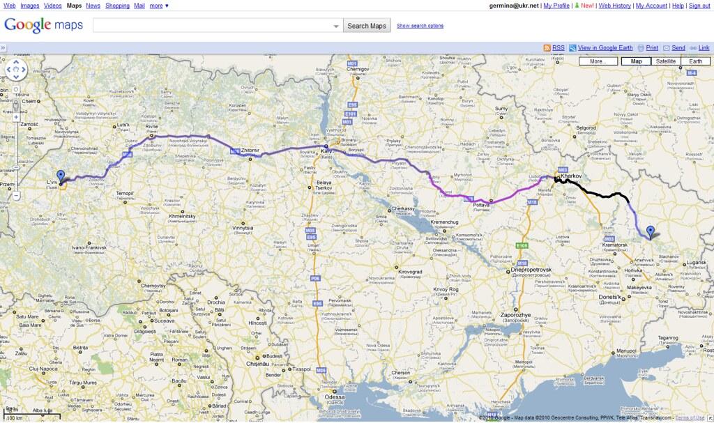 from l viv ukraine to severodonetsk ukraine google map flickr