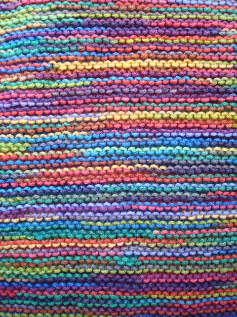 Knit Doll Blanket I Knit A Colorful Doll Blanket I Will Flickr