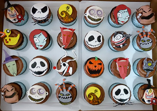 nightmare cupcakes | by Tuff Cookie cakes by Sylvia