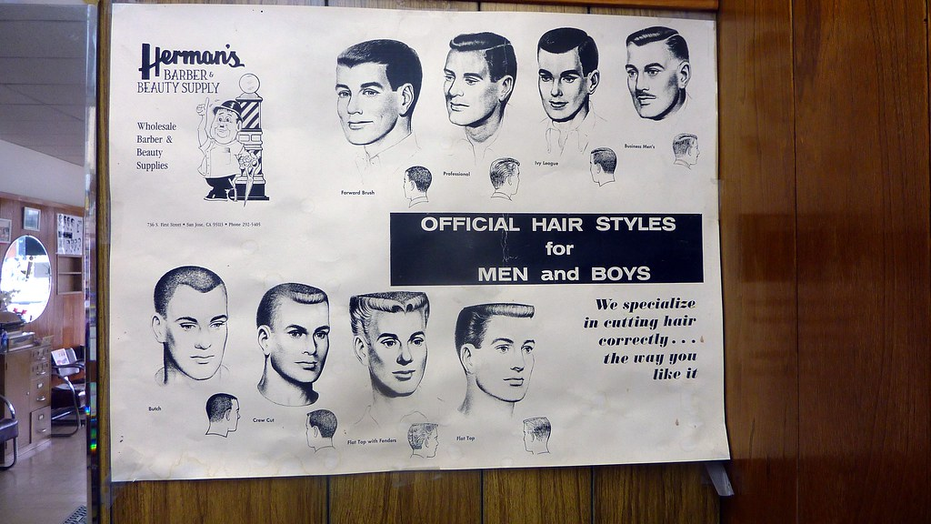 barber shop haircut poster official hair styles for and boys sign s barb 3959