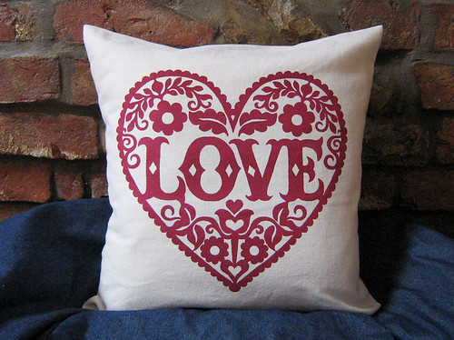 Love Cushion | by Alexandra Snowdon