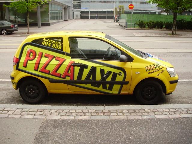 pizza taxi helsinki sporst flickr. Black Bedroom Furniture Sets. Home Design Ideas