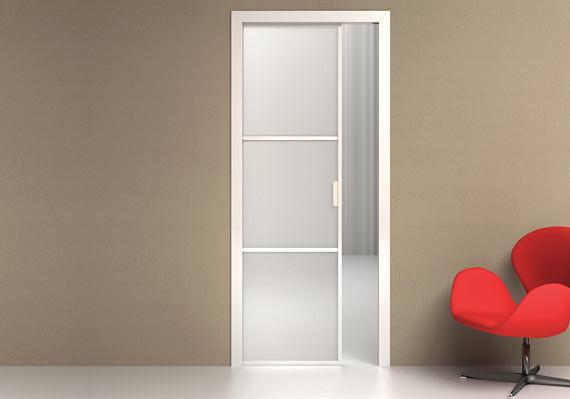 A-tipiko_loft_6 | Porta scorrevole interno muro a tre specch ...