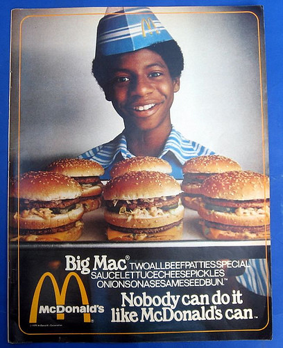 Tucson In The 70s >> McDonald's ad 1978 | we had a fresh paper hat each day | PatricksMercy | Flickr