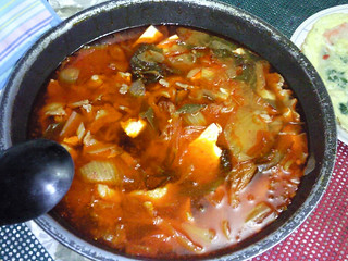 Ann Coballes' Kimchi stew | by maangchi