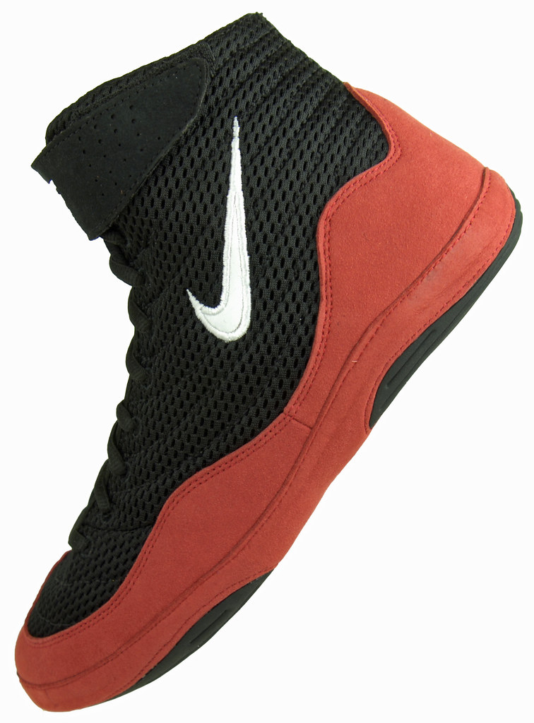 Black Nike Inflict Wrestling Shoes