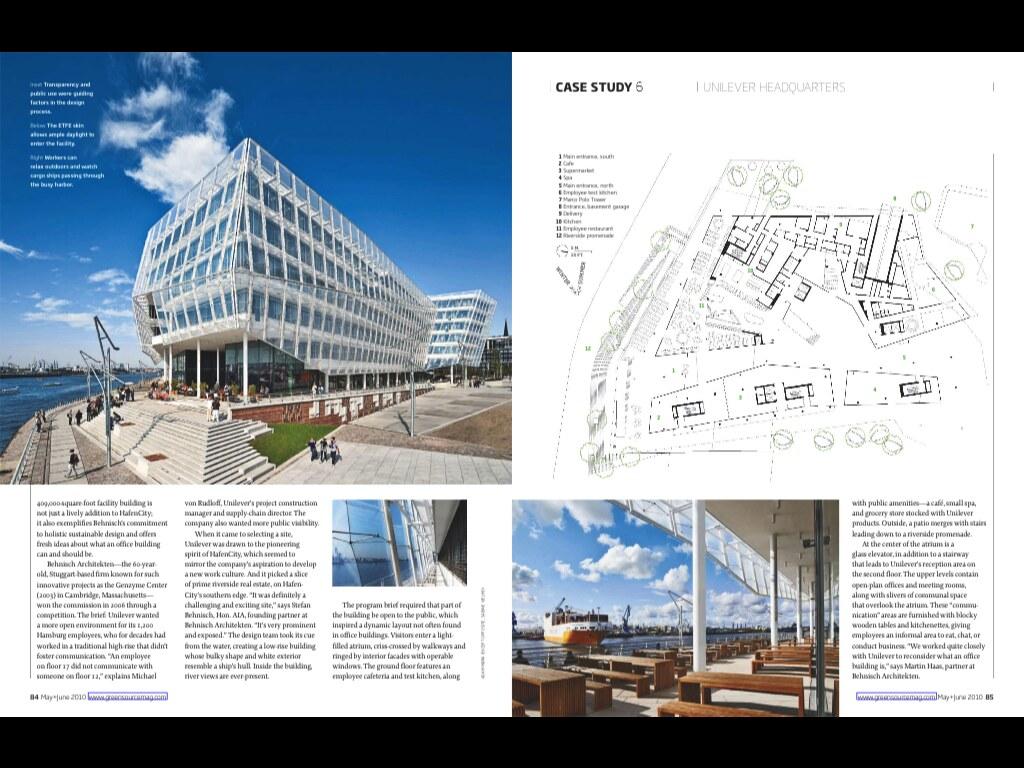 Warema Hamburg warema blinds featured on unilever haus hamburg solar shading