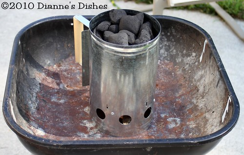 My New Charcoal Chimney | by Dianne's Dishes