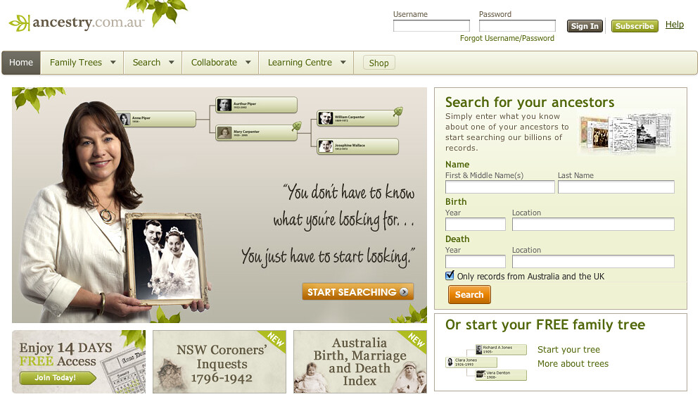 Search - ancestry.com