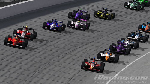 The field comes to the green | by IndyCar Series