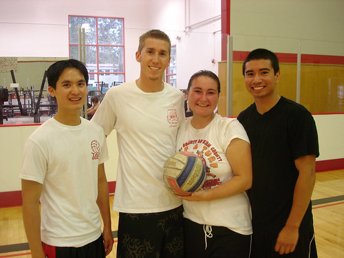 Students Playing a Game of Volleyball | by California State University Channel Islands