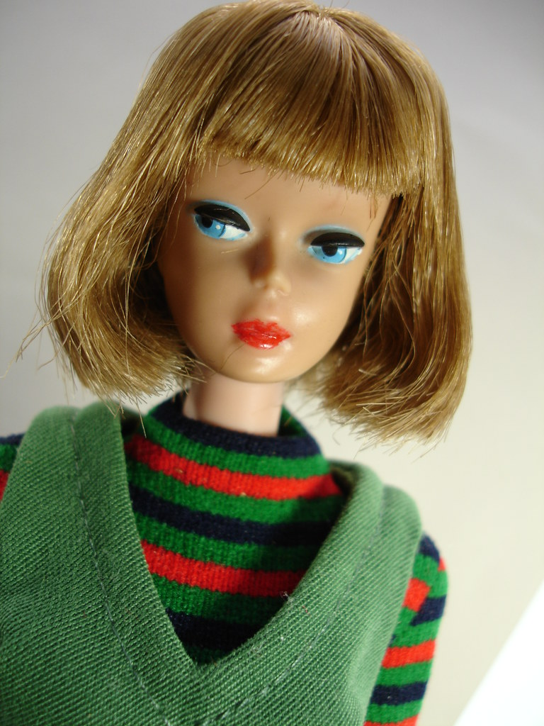 Vintage Barbie Doll Rerooted To Resemble 1070 Ash Brown Quot A