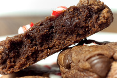 Peppermint Fudgy Brownie Cookies | by rkazda