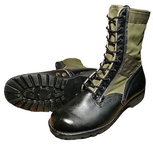 Vietnam Era Jungle Boots Mint Theleadinglady Flickr