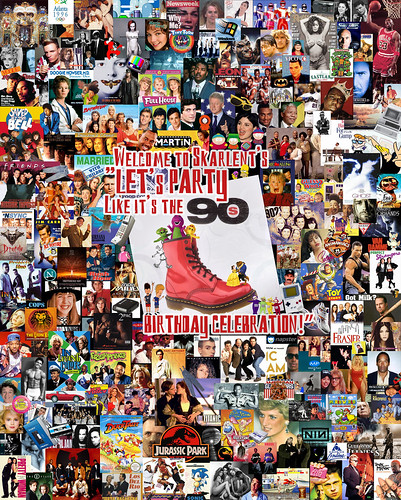 Let S Party Like It S The 90 S Poster Collage I Made