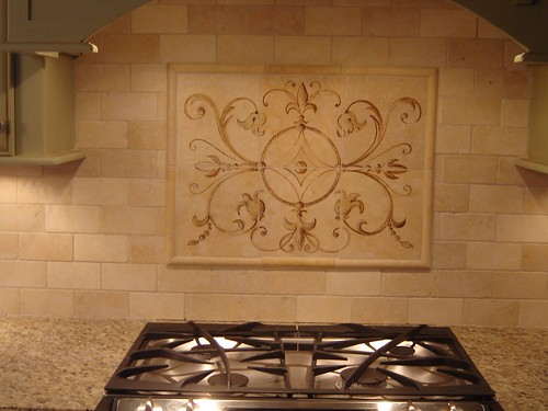 Hand Painted Backsplash Hand Painted Backsplash