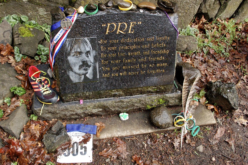 Cross Country Quotes >> Pre's Rock: Steve Prefontaine | Memorial at the Skyline Boul… | Flickr