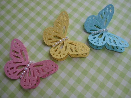 Monarch Butterfly Embellishments | by vsroses.com