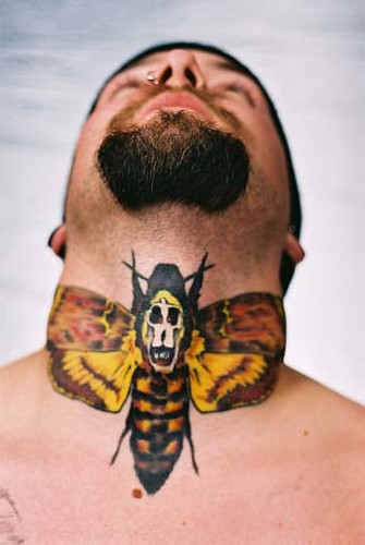 A rare neck piece featuring Silence of the Lambs   Detroit