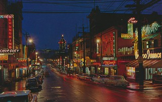Chinatown at Night - Vancouver, British Columbia | by The Cardboard America Archives
