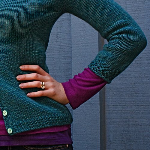 Gemma Cardigan | by the yarniad