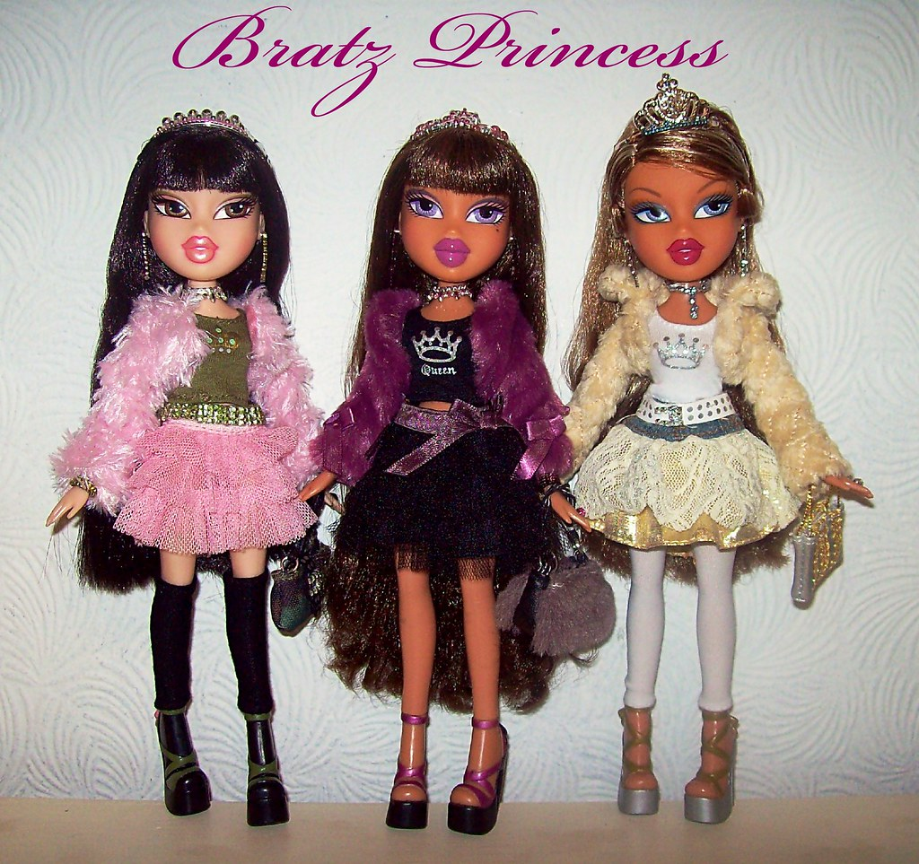 bratz princess jade yasmin amp fianna all my current