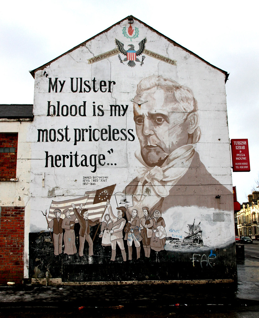Jan 10 my ulster blood is my most priceless heritage for Blood in blood out mural