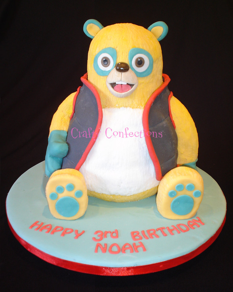 Special Agent Oso Birthday Cake