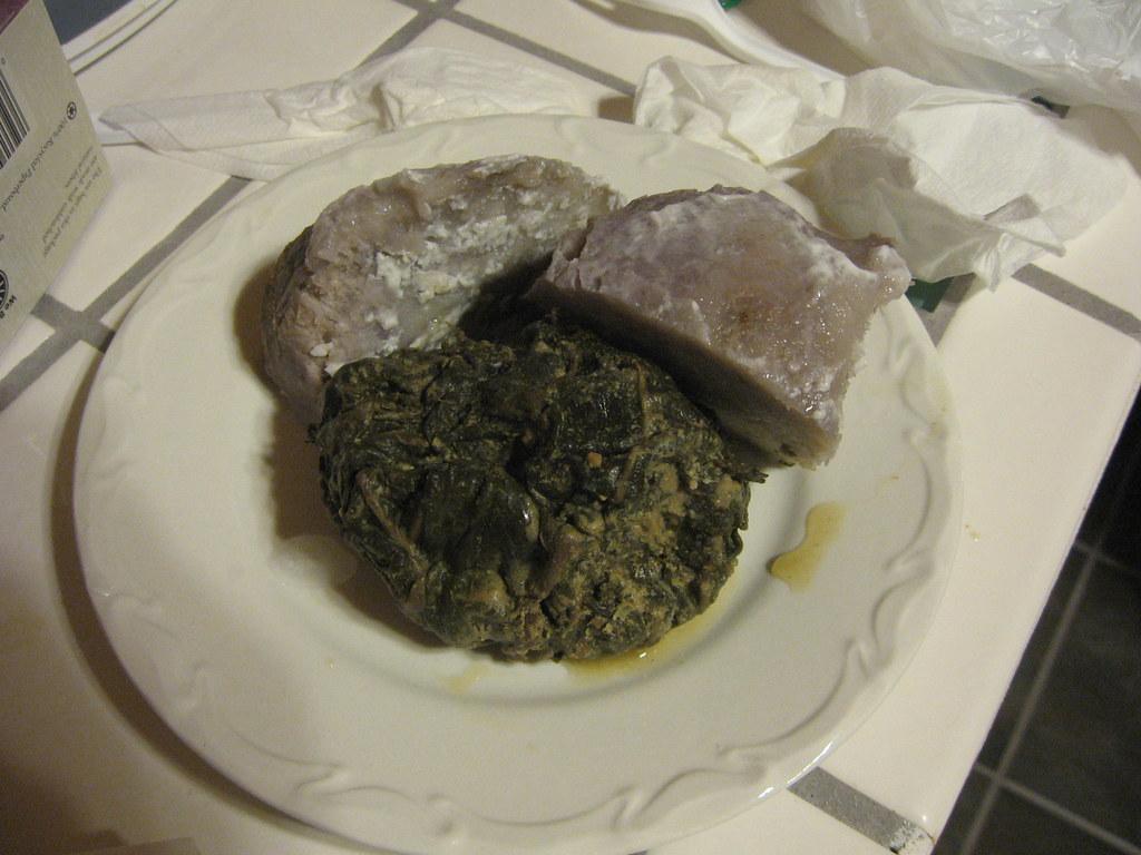 Samoa Food: Chicken and Taro Leaves...I wish |Samoan Taro