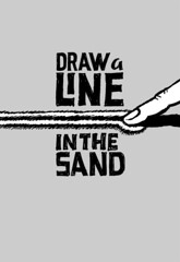 Draw a line in the sand | by Basecamp Photos