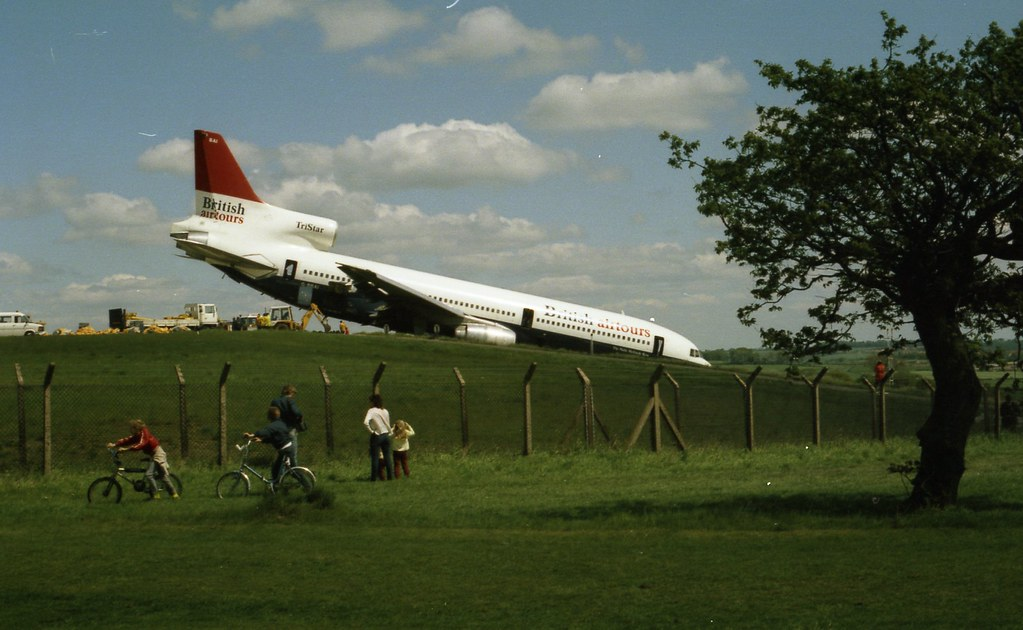 Lba British Airtours Tristar Gbbai On 28 May 1985 Flickr