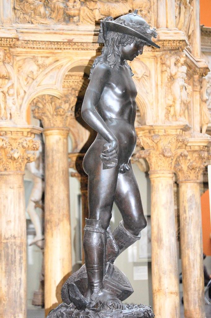 donatellos david plaster replica vampa right as ive